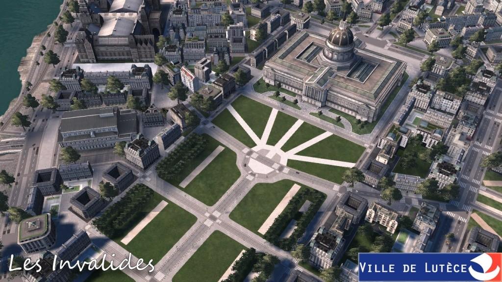 [CXL] Lutèce, RFGC - 2011 : avancement des travaux au 18/09/2011  [85%]  - Page 94 Lutece_Grande_place_invalide